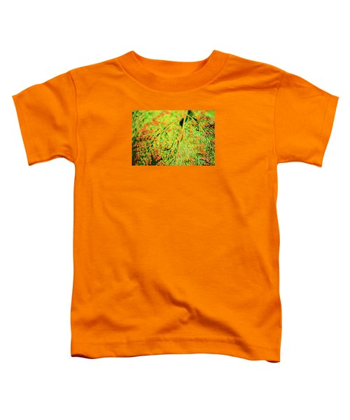 Tiny Flowers Blooming  Toddler T-Shirt