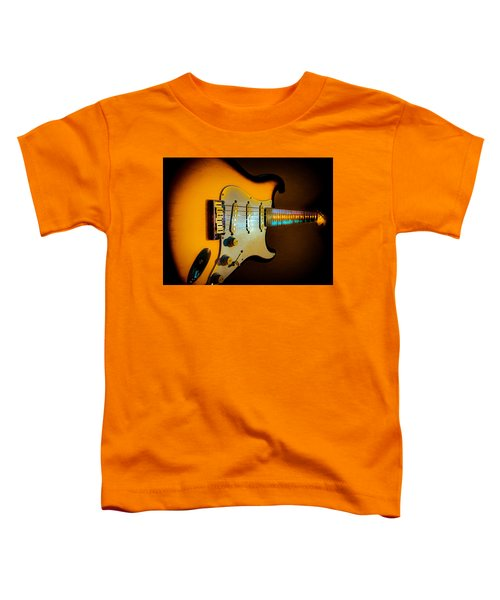 Tobacco Burst Stratocaster Glow Neck Series Toddler T-Shirt
