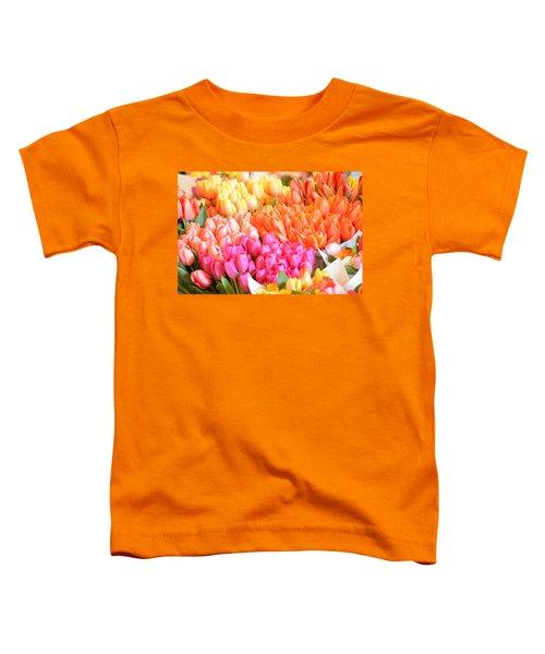 Tons Of Tulips Toddler T-Shirt