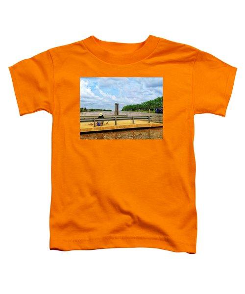 Too Hot To Fish Toddler T-Shirt