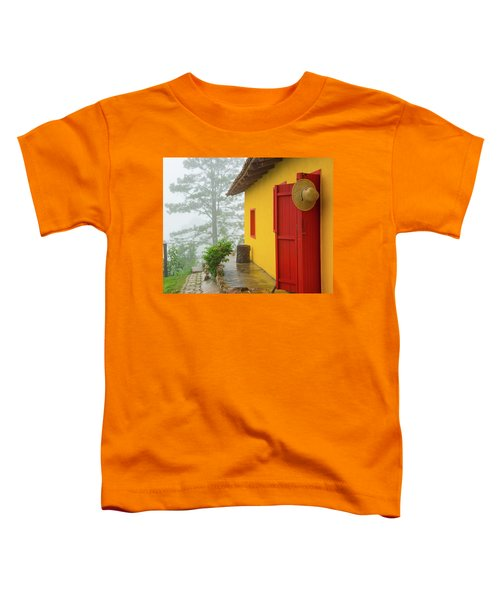 Top Of The Mountain Toddler T-Shirt