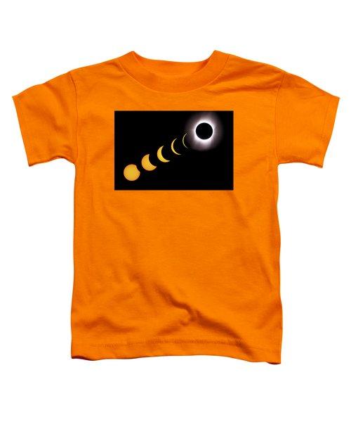 Total Eclipse Sequence, Aruba, 2/28/1998 Toddler T-Shirt