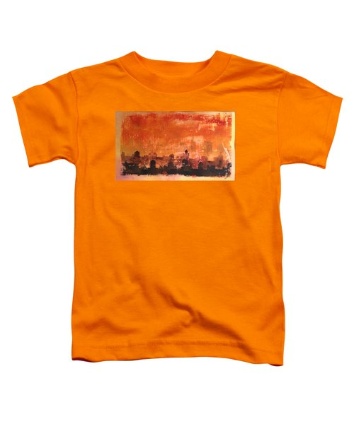 Towers And Tanks Toddler T-Shirt