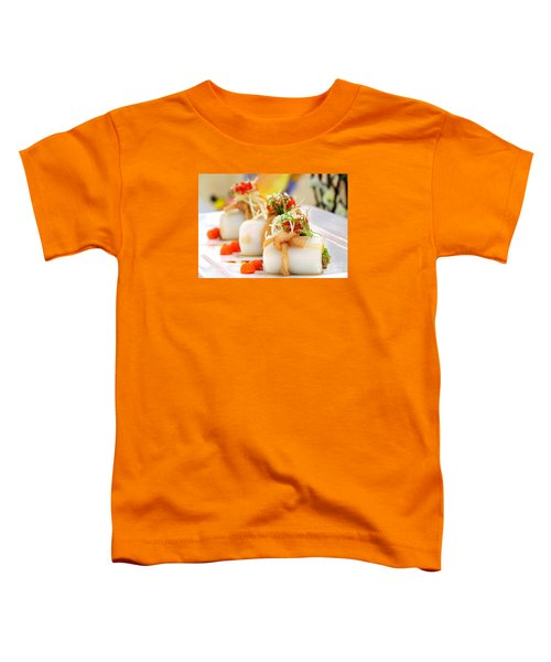 Traditional Chinese Hakka Rice Noodle Roll Toddler T-Shirt