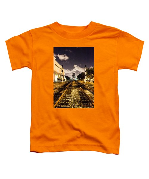 Train Tracks Toddler T-Shirt