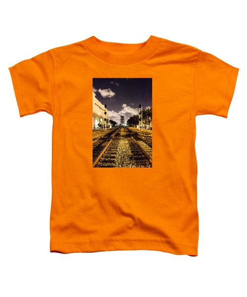 Train Tracks Toddler T-Shirt