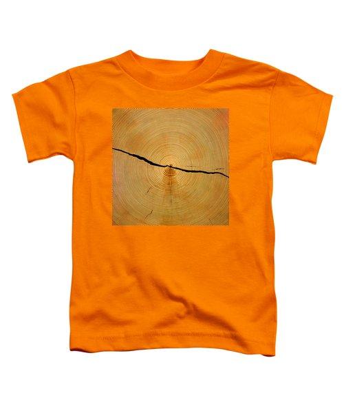 Tree Rings Toddler T-Shirt