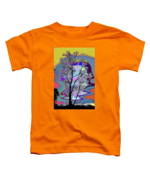 Tree - Story Of Life Toddler T-Shirt