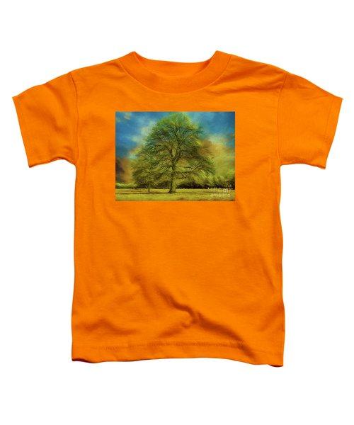 Tree Three Toddler T-Shirt