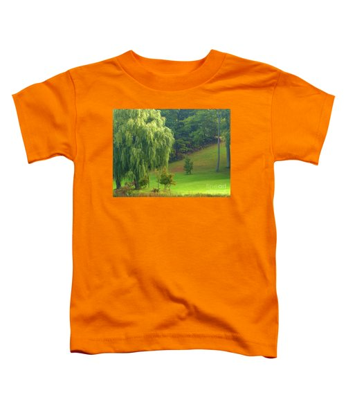Trees Along Hill Toddler T-Shirt
