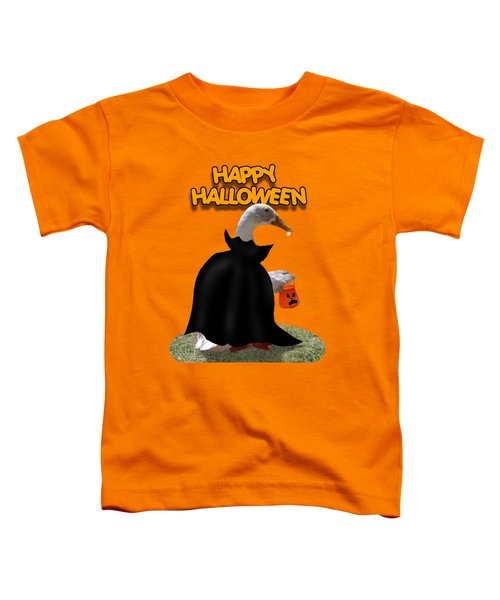 Trick Or Treat For Count Duckula Toddler T-Shirt
