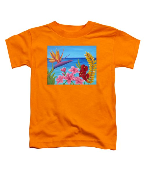Tropical View Toddler T-Shirt