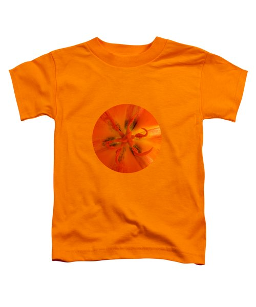 Tulip Center By V.kelly Toddler T-Shirt