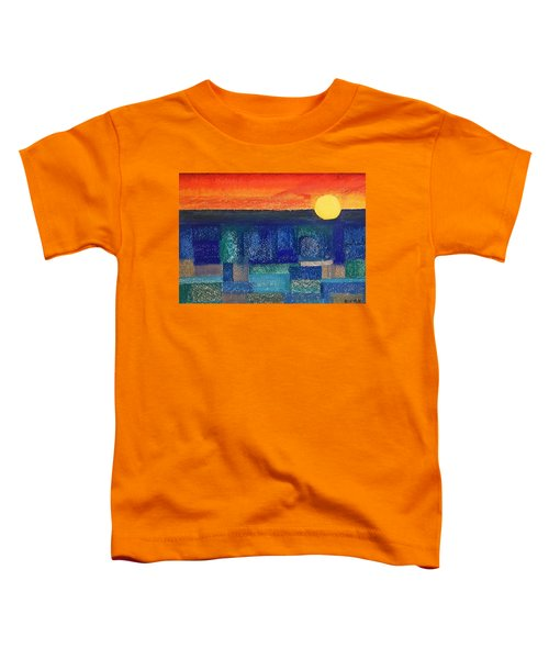 Turquoise Sunset Toddler T-Shirt