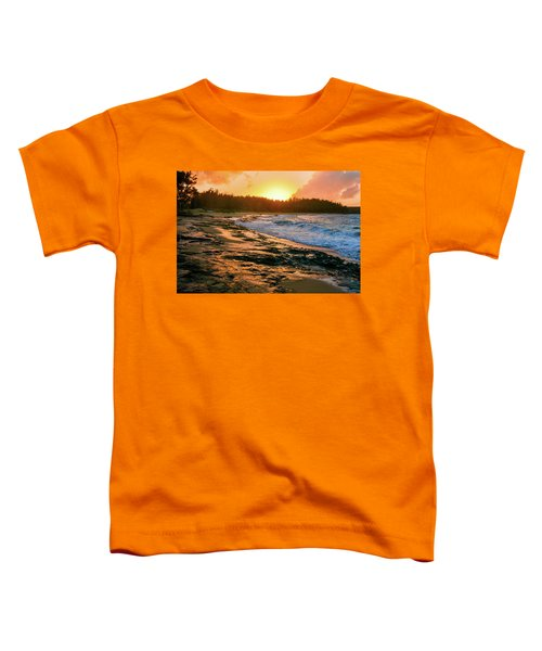 Turtle Bay Sunset 2 Toddler T-Shirt