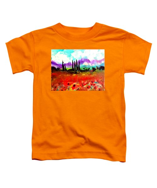 Tuscany Fields Toddler T-Shirt