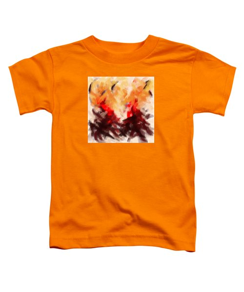 Two To Tango Abstract Toddler T-Shirt