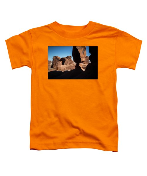 Toddler T-Shirt featuring the photograph U-turn by Whit Richardson