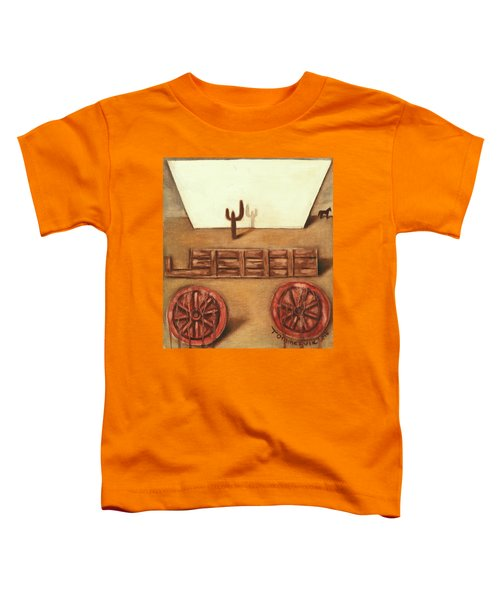 Tommervik Uncovered Wagon Art Print Toddler T-Shirt