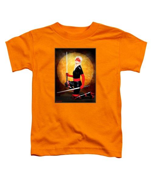 Under A Blood Moon Toddler T-Shirt