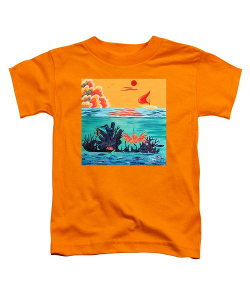 Bright Coral Reef Toddler T-Shirt