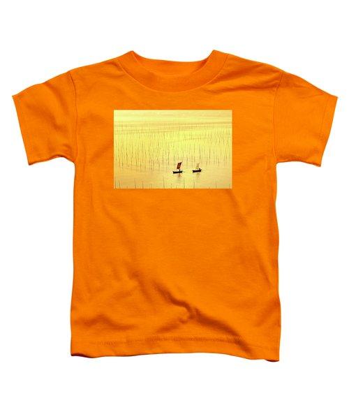 Up At Dawn. Toddler T-Shirt
