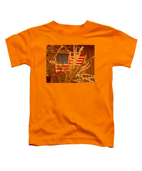 U.s. Wheat Toddler T-Shirt