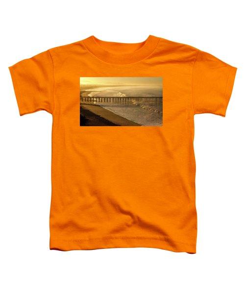 Ventura, Ca Pier At Sunrise Toddler T-Shirt