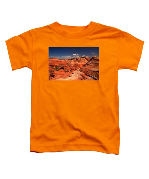 Vermilion Cliffs Rugged Landscape Toddler T-Shirt