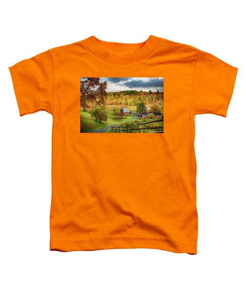 Vermont Sleepy Hollow In Fall Foliage Toddler T-Shirt