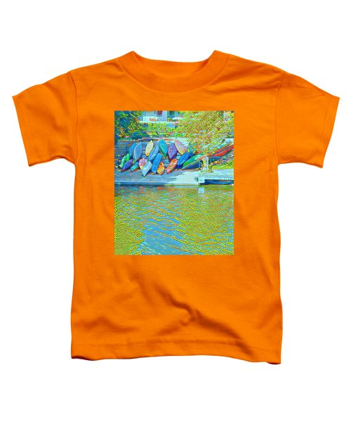 View From East Side Boardwalk Toddler T-Shirt