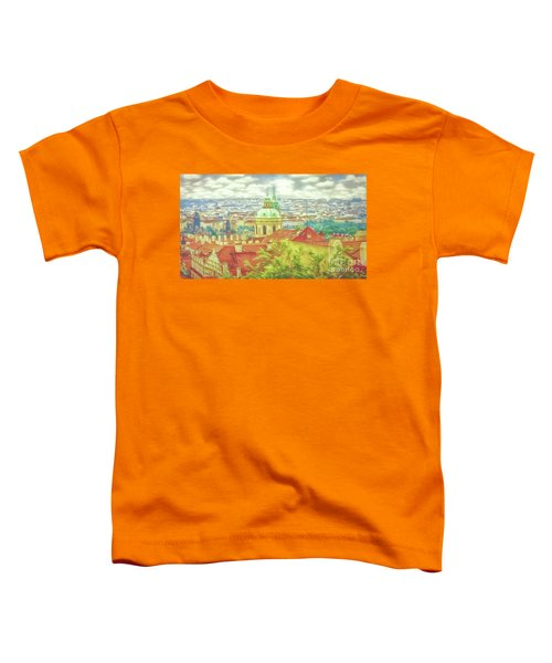 View From The High Ground - Prague  Toddler T-Shirt