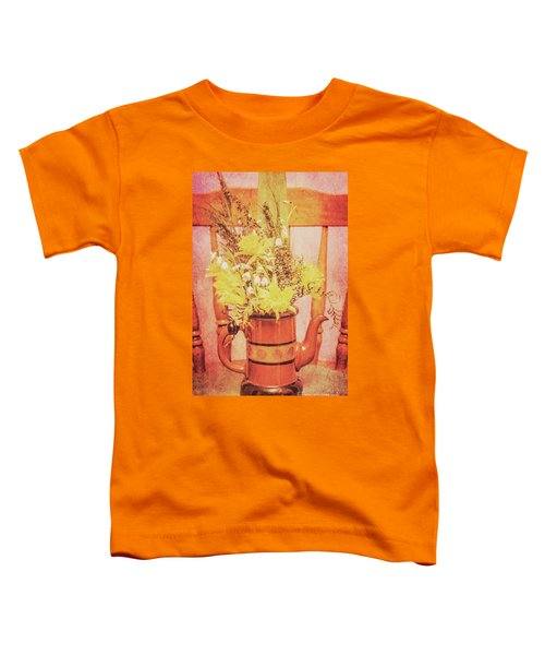 Vintage Fine Art Still Life With Daffodils Toddler T-Shirt