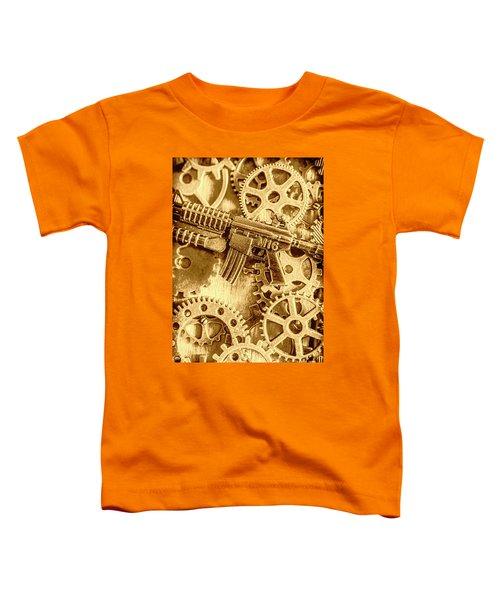 Vintage M16 Artwork Toddler T-Shirt