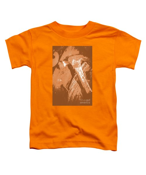 Vintage Miners Hammer Artwork Toddler T-Shirt