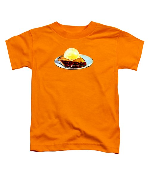 Vintage Pie A La Mode Toddler T-Shirt