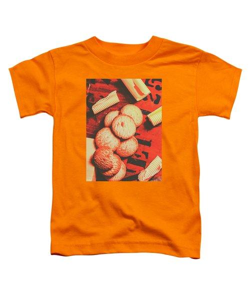 Vintage Rich Butter Shortcake Cookies Toddler T-Shirt