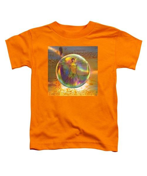 Vitruvian Vulcan Toddler T-Shirt
