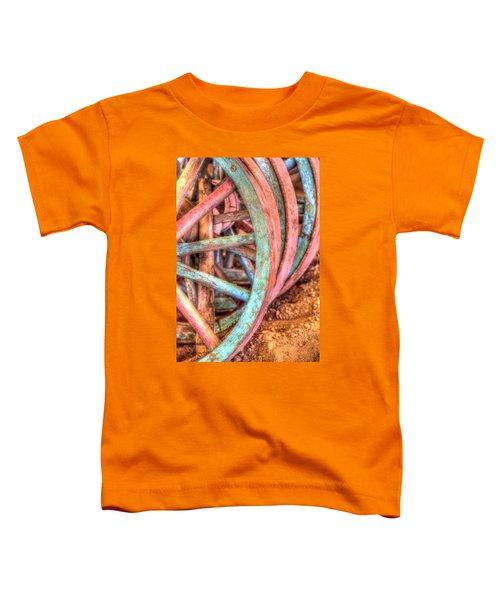 Wagon Wheels Toddler T-Shirt