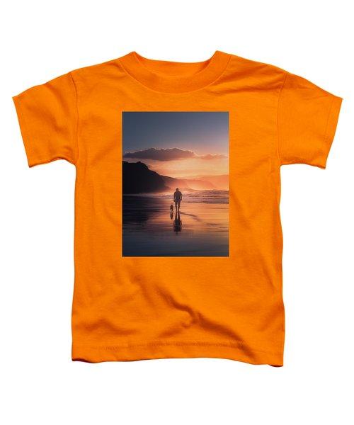 Walking The Dog Toddler T-Shirt