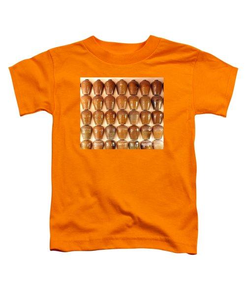 Wall Of Ceramic Jugs Toddler T-Shirt