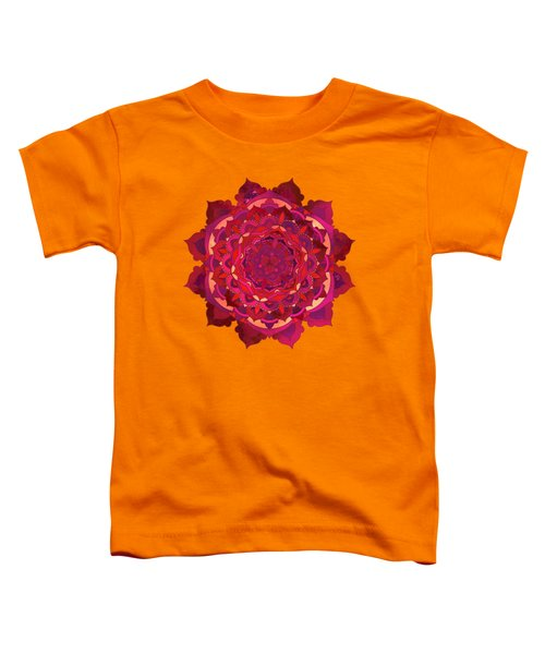 Warm Autumn Mandala Toddler T-Shirt