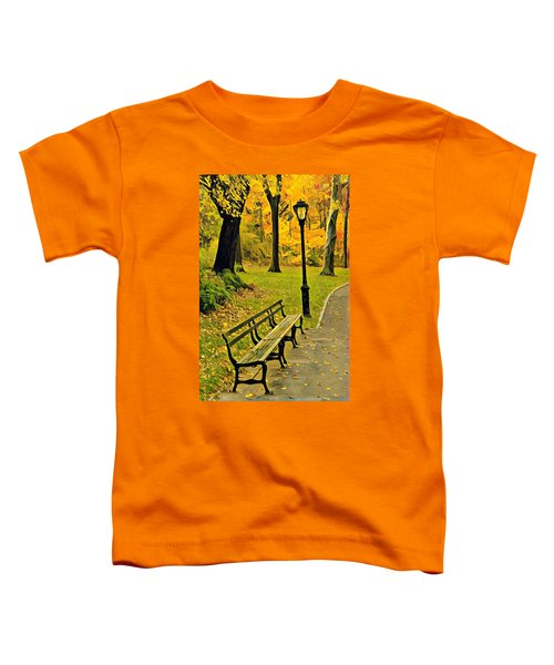 Washington Square Bench Toddler T-Shirt