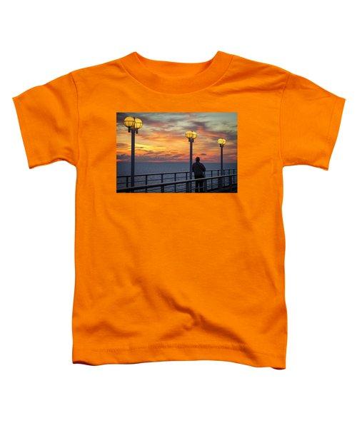 Watching The Sun Go Down Toddler T-Shirt