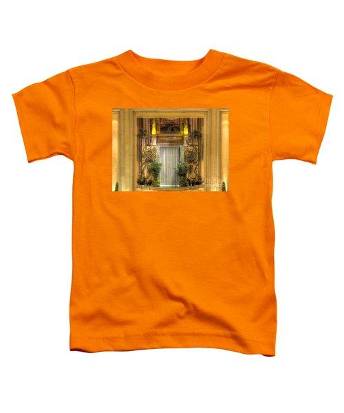 Waterfall View And Hues Toddler T-Shirt