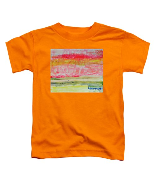 Watery Seascape Toddler T-Shirt