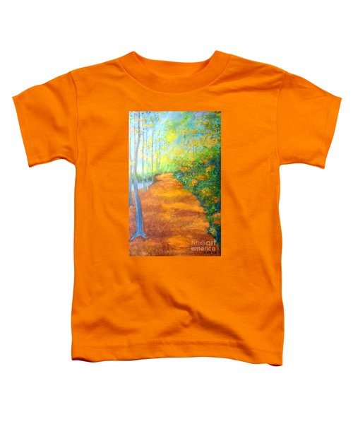 Way In The Forest Toddler T-Shirt