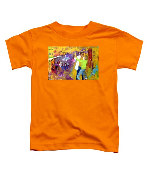We Tangoed On The Piazza Navono Toddler T-Shirt