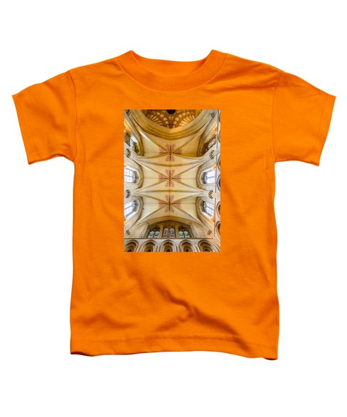 Wells Cathedral Ceiling Toddler T-Shirt