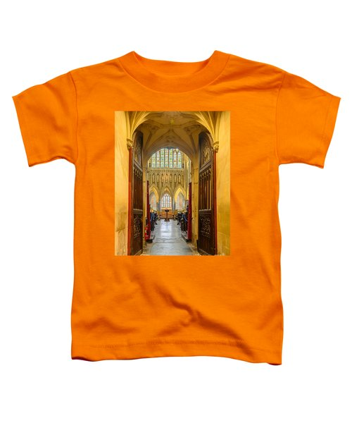 Wellscathedral, The Quire Toddler T-Shirt